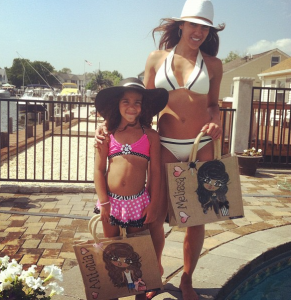 MelissaGorga+Daughter