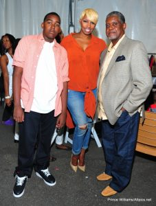NeNe Leakes with Gregg and Brent at a Charity Fashion Show