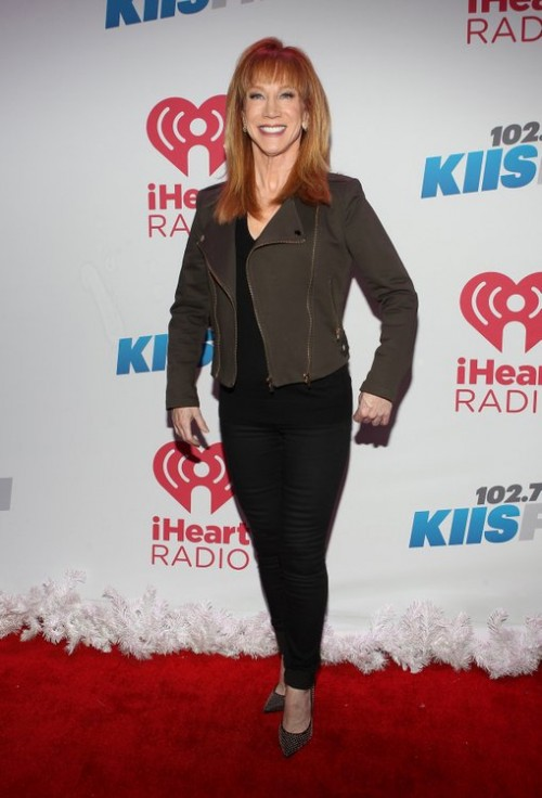 Kathy Griffin Quits Fashion Police, Cites Differences with E! Network