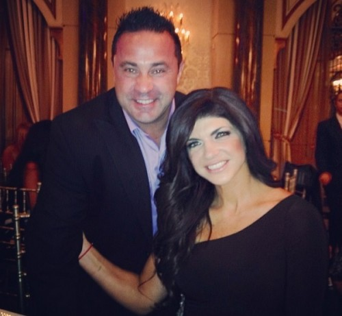 Teresa Giudice Looks To A Hi