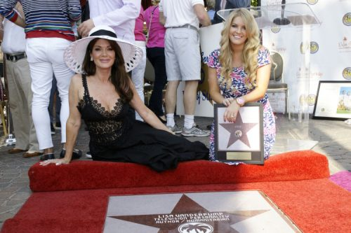 Lisa Vanderpump Receives Star On Palm Sprin
