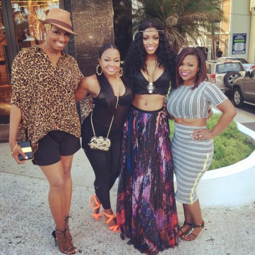 Photos: Real Housewives Of Atlanta Film Girls Trip In Puerto Rico; Claudia Jordan And Demetria McKinney Attend!