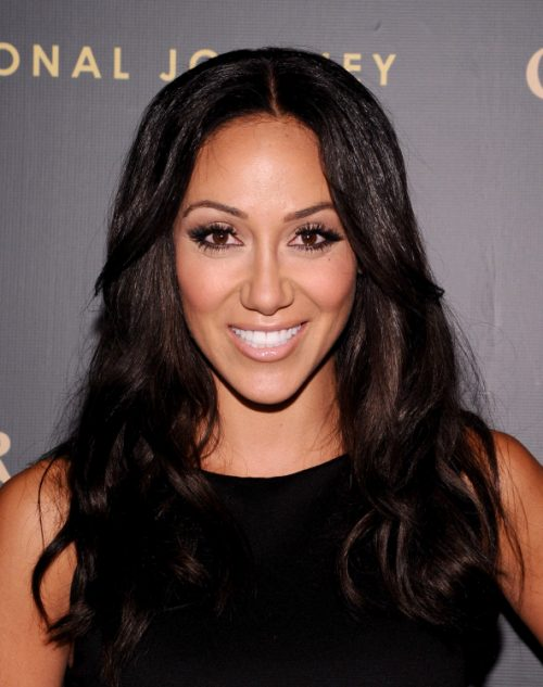 Photos: Melissa Gorga Goes Back To Being A Brunette; Parties In NYC With Joe Gorga!