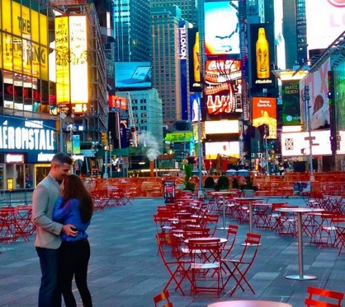 Ryan Serhant Shuts Down Times Square To Propose To Emilia B