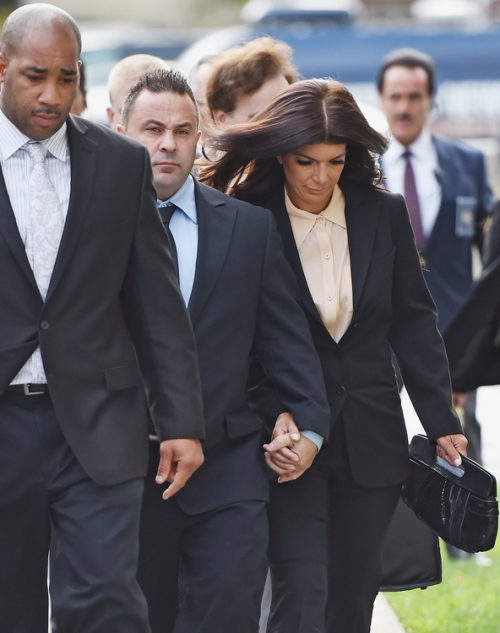 Photos: Joe and Teresa Giudice Sentencing In Federal Fraud Case About To Start