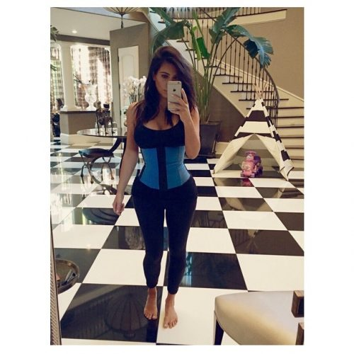 Kim Kardashian Talks Waist Training And Kylie's Lips