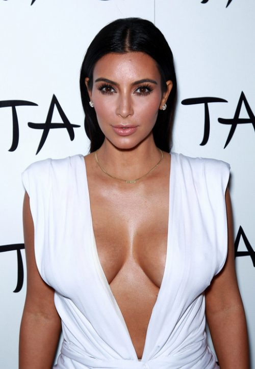 Kim Kardashian Celebrates Her Birthday In Vegas With Family, Friends, Fans, and A Whole Lot Of Cleavage