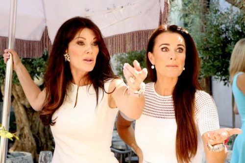 Lisa Vanderpump And Kyle Richards Talk Friendship; Kyle Thinks Brandi Glanville Came To White Party Looking For Trouble