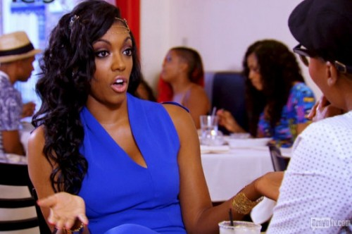 "Porsha Williams Denies Dating Married Men; Is Praying For Claudia Jordan – Calls Her ""Mini Kenya"""