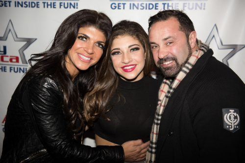 Joe and Teresa Giudice Cheer On Gia At 3KT Performance; Juicy Shows Off New Beard