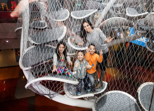 Melissa Gorga And Her Kids Visit Liberty Science Ce