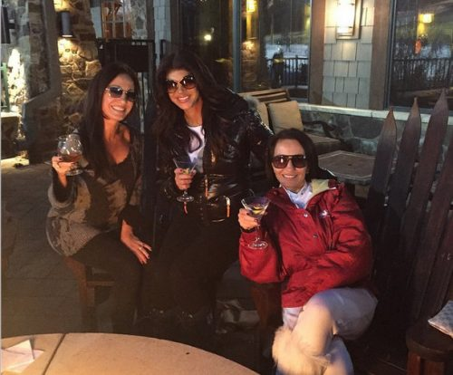 Teresa Giudice Hits The Ski Slopes With Nicole Napolitano And Teresa Aprea