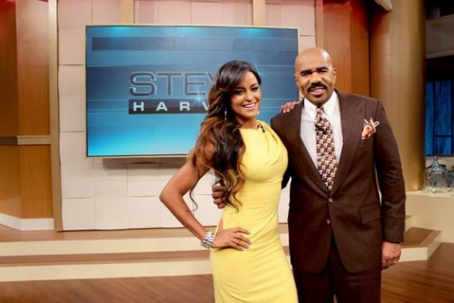 Claudia Jordan Throws Shade At NeNe Leakes And Phaedra Parks On The Steve Harvey Show