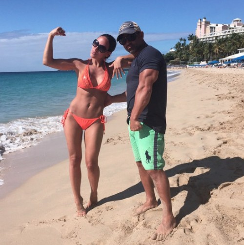 Photos – Melissa Gorga And Joe Gorga Vacation In St. Thomas