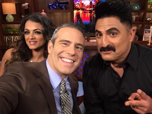 Golnesa Gharachedaghi and Reza Farahan Get Catty About Co-Stars On WWHL