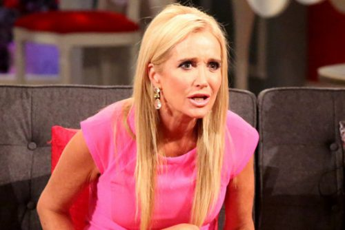 Report: Kim Richards Under The Influence And Belligerent At Brooke's Wedding