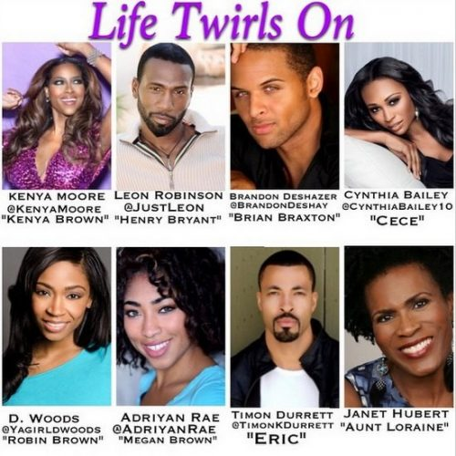 See The Trailer For Kenya Moore's Sitcom Life Twirls On!