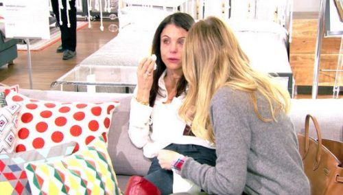 Bethenny Frankel Explains Crying with Carole; Doesn't Want to Get Deep with Heather