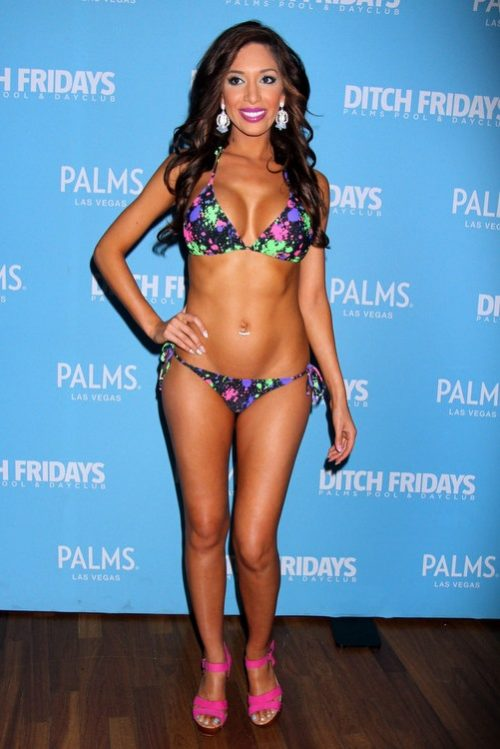 Farrah Abraham Celebrates 24th Birthday At Palms Pool In Las Vegas – Photos