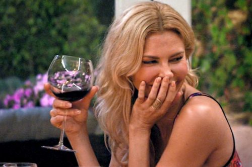 Brandi Glanville Has A Blonde Moment After Letting Her Son Put Gas In Her C