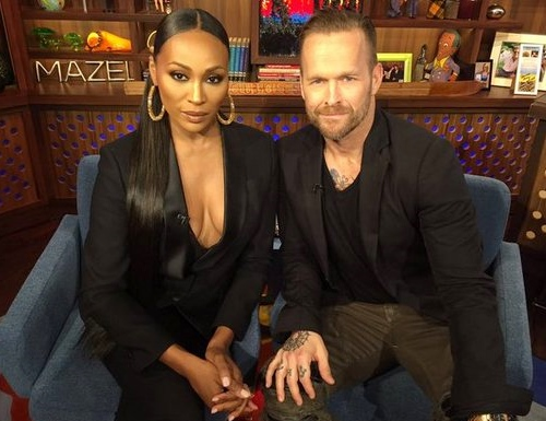 Cynthia Bailey and Bob Harper on WWHL