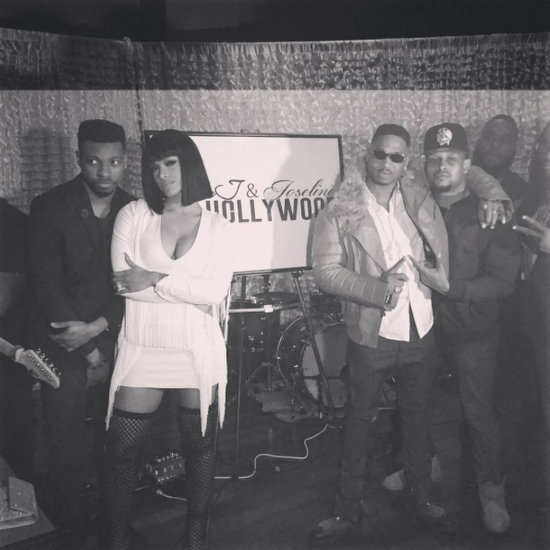 Joseline & Stevie Go Hollywood Premiere