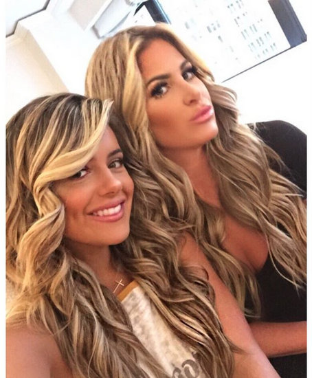 Kim Zolciak And Brielle Biermann Post More Bikini Photos!