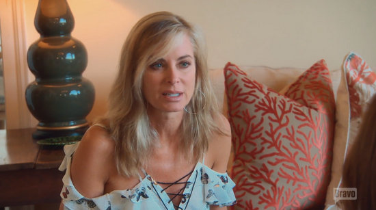 Eileen Davidson is uncomfortable