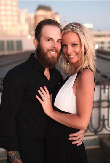 Ryan Vieth and fiance Sarah Rodriguez