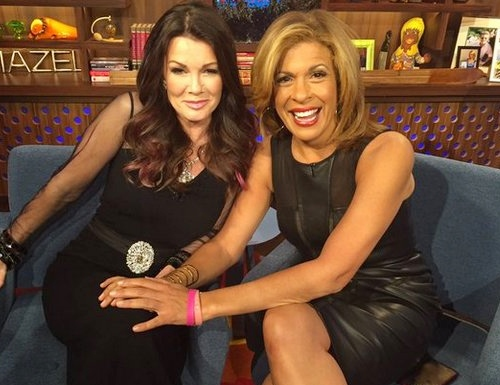 Lisa Vanderpump and Hoda Kotb