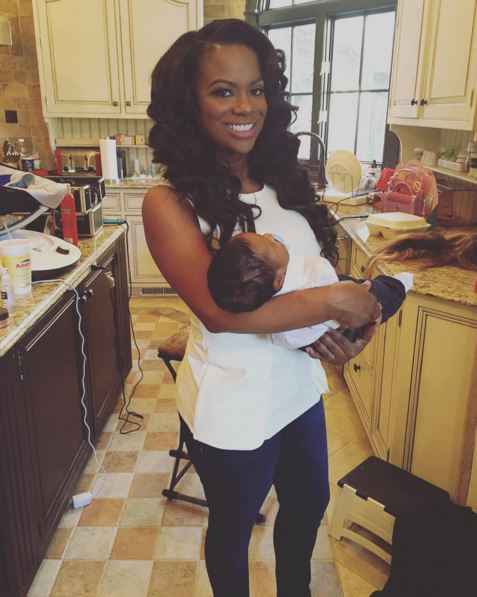Kandi Burruss Looks AMAZING Post-Baby! Says It's All Thanks To Breastfeeding