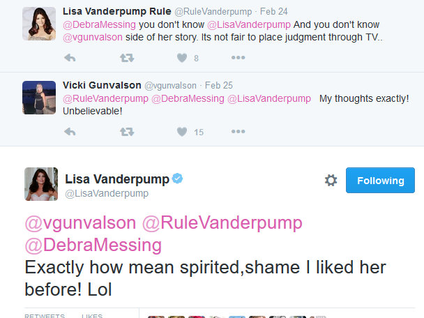 Lisa Vanderpump on Twitter