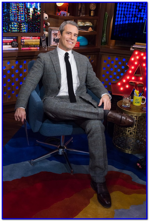 WATCH WHAT HAPPENS LIVE -- Episode 13030 -- Pictured: Andy Cohen -- (Photo by: Charles Sykes/Bravo)