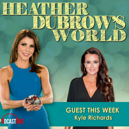 Heather Dubrow and Kyle Richards