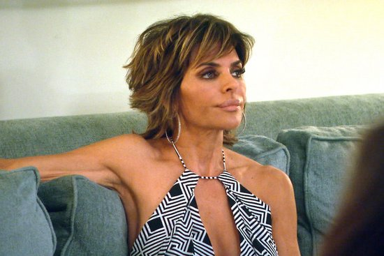 Lisa Rinna is shocked
