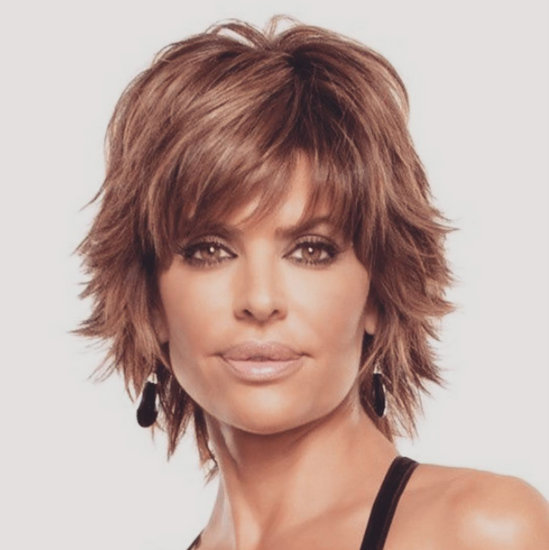 Lisa Rinna Goes Bald  Snarks Brandi Glanville Over Wig - Glue In Hairstyles
