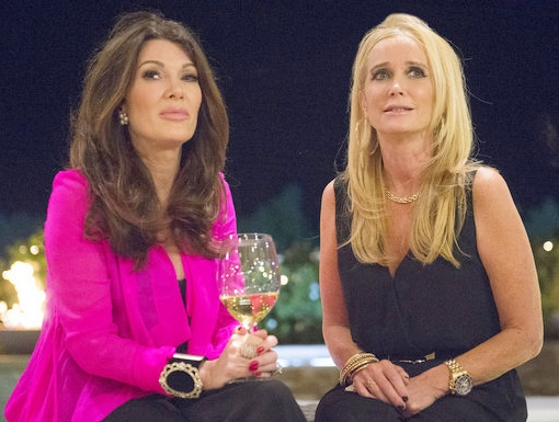Lisa Vanderpump and Kim Richards