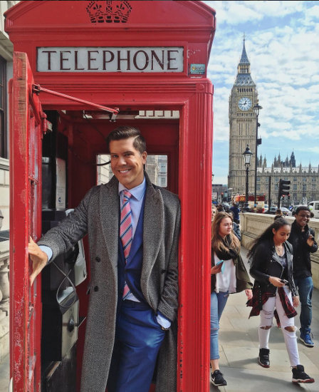 Fredrik Eklund London