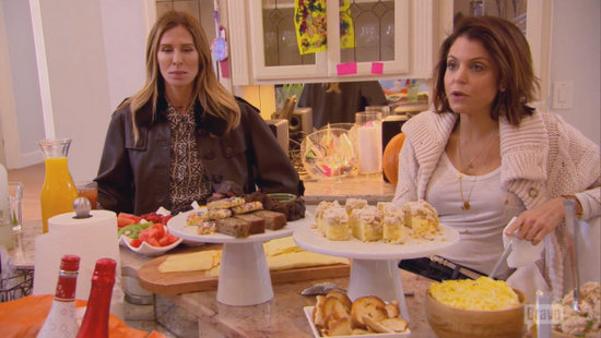 Bethenny and Carole at brunch
