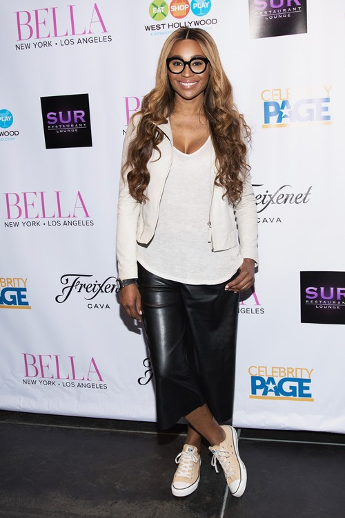 LOS ANGELES, CA - MAY 21: TV personality Cynthia Bailey attends BELLA New York Magazine Beauty Issue Cover Party at Sur Restaurant on May 21, 2016 in Los Angeles, California. (Photo by Tara Ziemba/Getty Images)