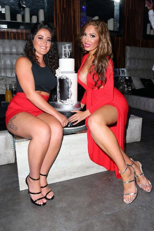 Jenelle Evans Celebrates Farrah Abraham's Birthday With Her – Photos