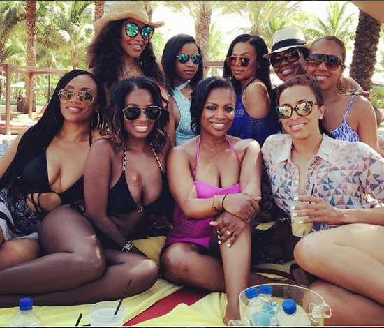 Kandi Burruss 40th In Bahamas