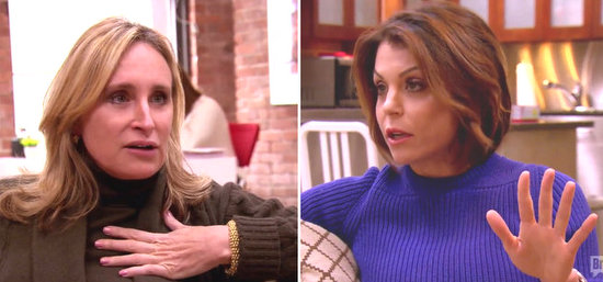 Sonja Morgan & Bethenny Frankel argue
