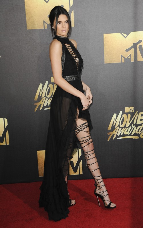 The 2016 MTV Movie Awards Featuring: Kendall Jenner Where: Los Angeles, California, United States When: 10 Apr 2016 Credit: Apega/WENN.com