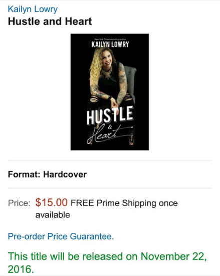 Kail Lowry Releasing An Advice Book Called Hustle And Heart