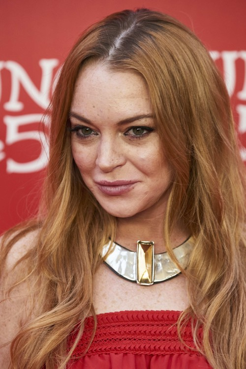 Uno de 50 celebrates their 20th anniversary at the Palacio de Saldaña - Arrivals Featuring: Lindsay Lohan Where: Madrid, Spain When: 10 Jun 2016 Credit: Sean Thorton/WENN.com **Not available for publication in Spain, France**