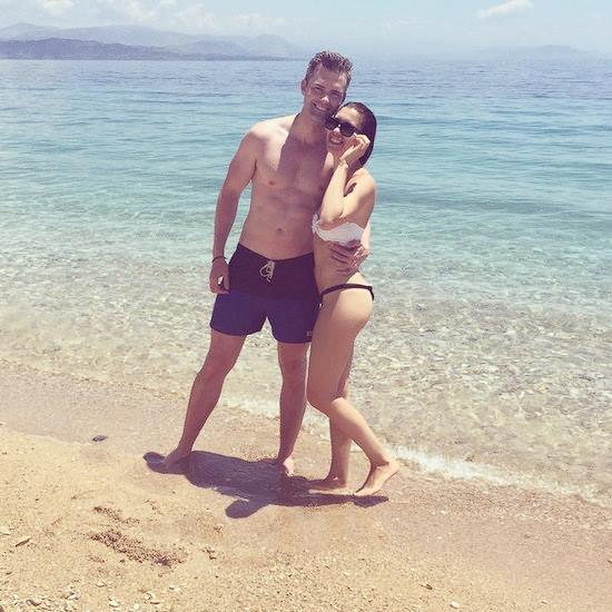 Ryan Serhant and Emilia Bechrakis married in Greece