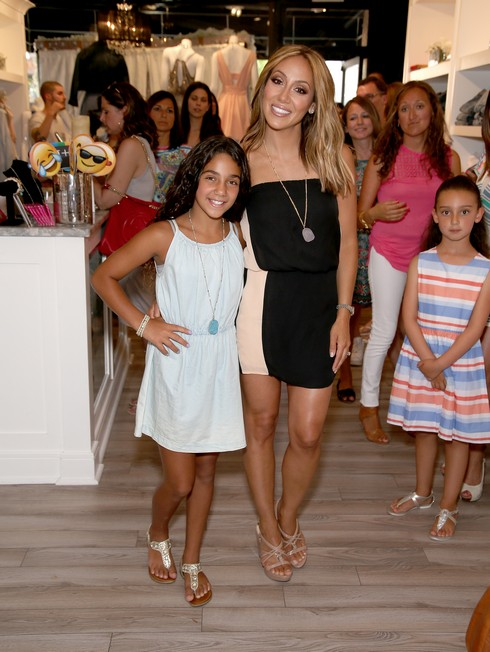 MONTCLAIR, NJ - JULY 11: Antonia Gorga (L) and Melissa Gorga attend the Melissa Gorga's