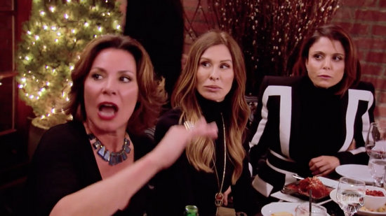 Bethenny and Carole react to Luann