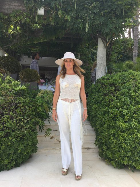 Sonja Morgan In St. Tropez